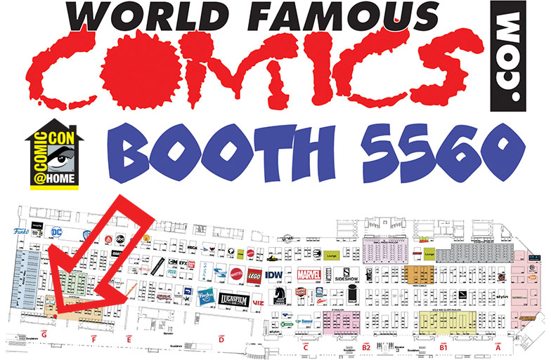 World Famous Comics - Booth 5560