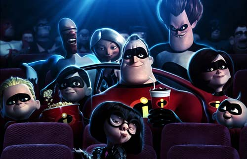 The incredibles movie s blog
